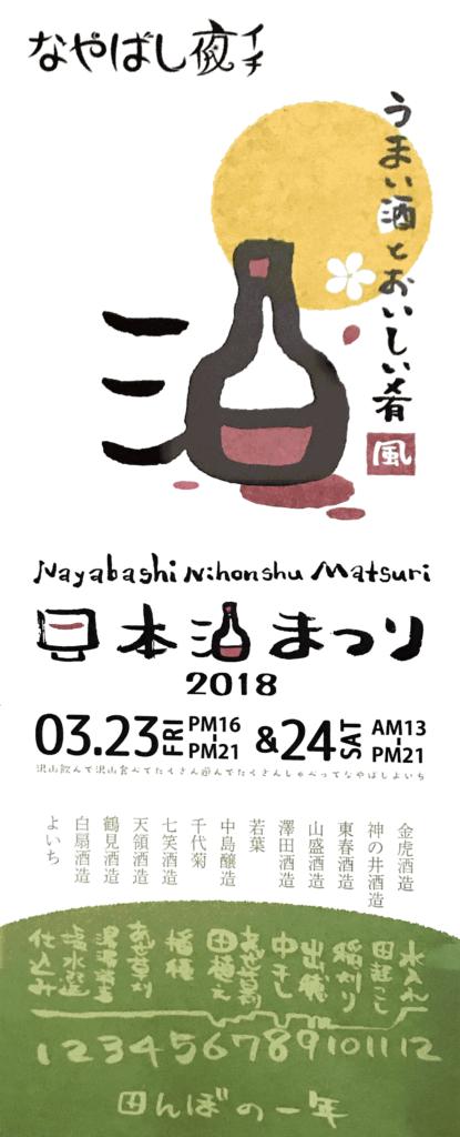 日本酒まつり なやばし
