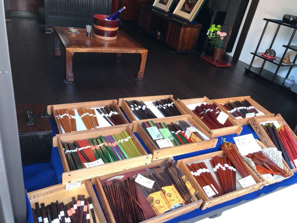 漆器売り場